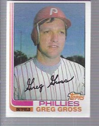 Photo of 1982 Topps #53 Greg Gross