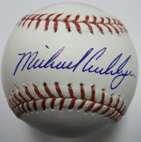 Photo of Michael Cuddyer Autographed Baseball
