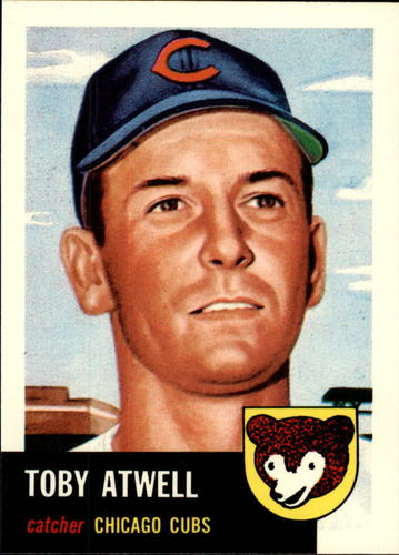 Photo of 1991 Topps Archives 1953 #23 Toby Atwell