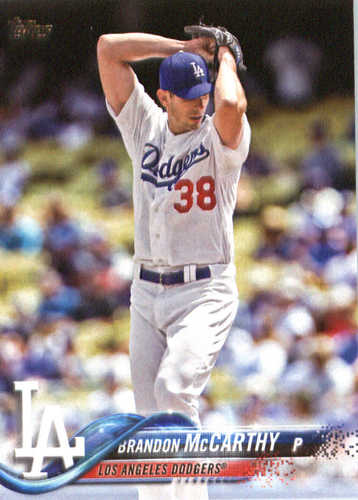 Photo of 2018 Topps #338 Brandon McCarthy