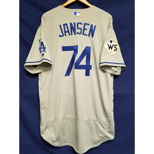 Photo of Kenley Jansen 2017 Road World Series Team-Issued Jersey