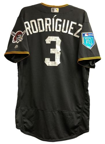 Photo of Sean Rodriguez Team-Issued 2018 Spring Training Jersey