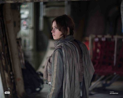 Felicity Jones as Jyn Erso