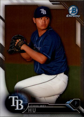 Photo of 2016 Bowman Chrome Draft #BDC147 Chih-Wei Hu