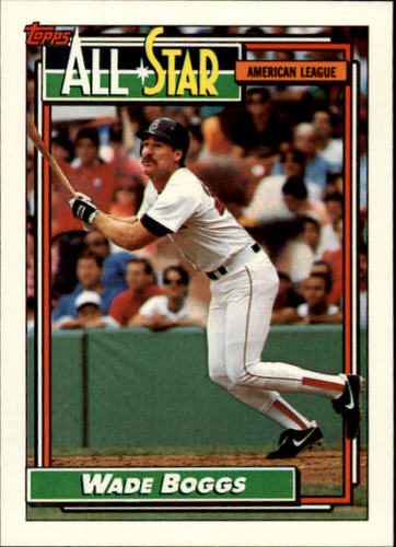 Photo of 1992 Topps #399 Wade Boggs AS