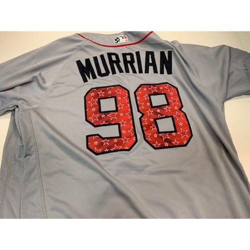 Photo of Game-Used 2018 Stars and Stripes Jersey: John Murrian