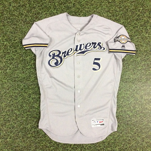 Photo of Jonathan Villar 2018 Game-Used Opening Day Jersey