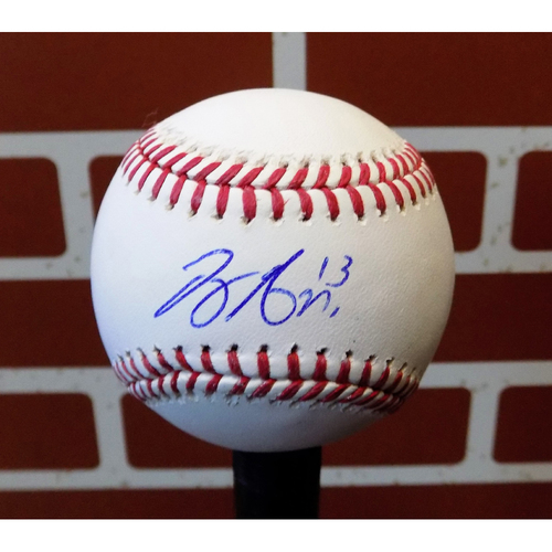 Photo of Joey Gallo Autographed Final Season Logo Baseball