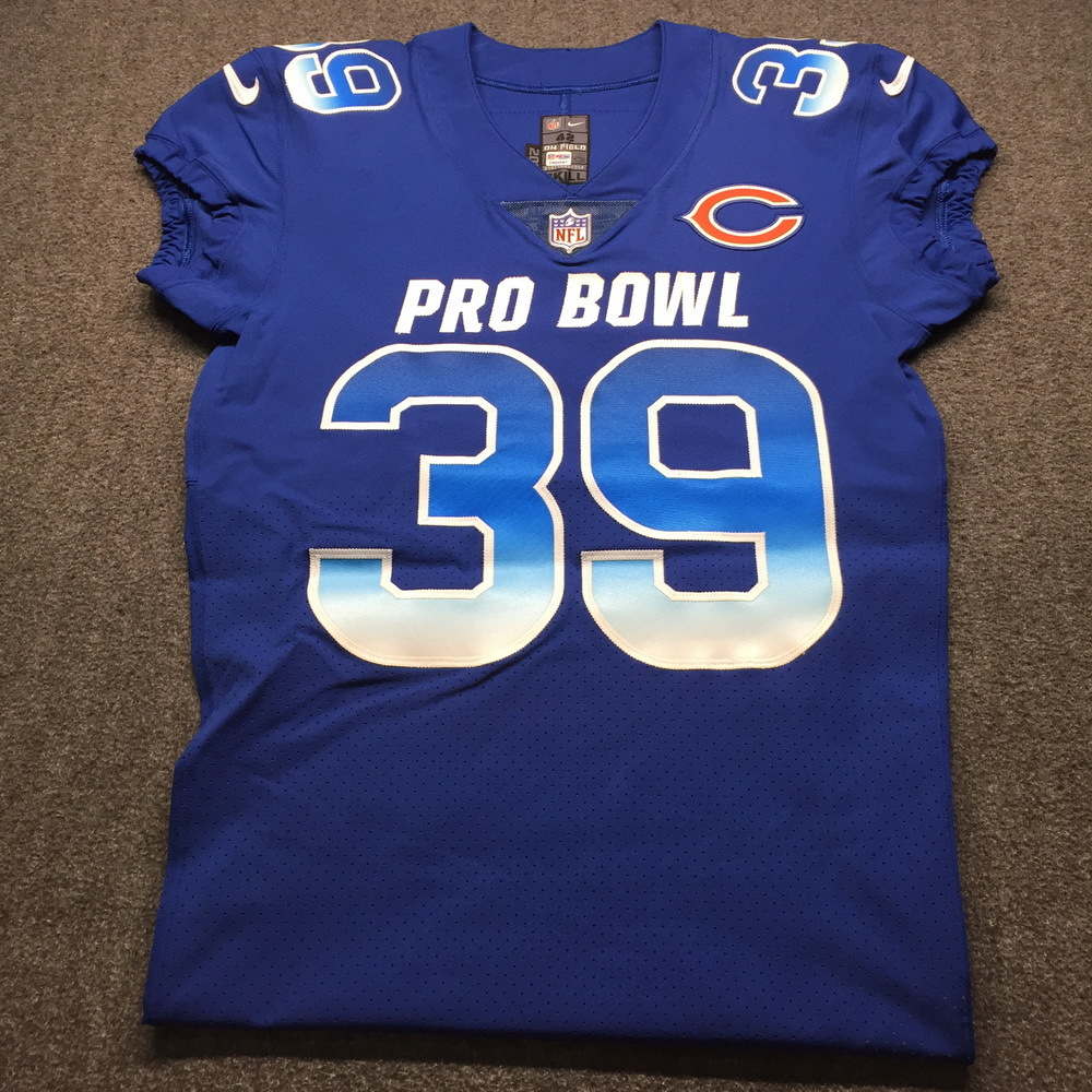 NFL - Bears Eddie Jackson Game Issued 2019 Pro Bowl Jersey Size 42