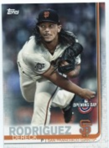 Photo of 2019 Topps Opening Day #118 Dereck Rodriguez