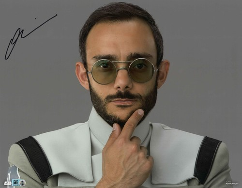 Omid Abtahi As Dr. Pershing 11X14 AUTOGRAPHED IN 'Black' INK PHOTO