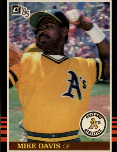 Photo of 1985 Donruss #223 Mike Davis