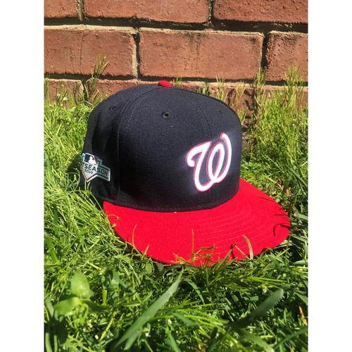 Photo of Ali Modami Team-Issued Cap with Postseason Patch