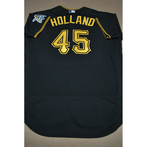 Photo of Derek Holland Team-Issued Road Black Jersey