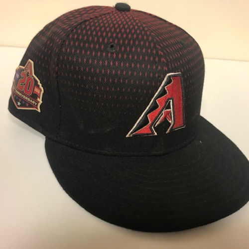 Photo of 2018 Team Issued Black 20th Anniversary Hat