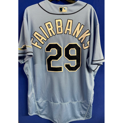 Photo of Game Used 2020 Spring Training Jersey: Pete Fairbanks - 1 Game - February 27 v DET