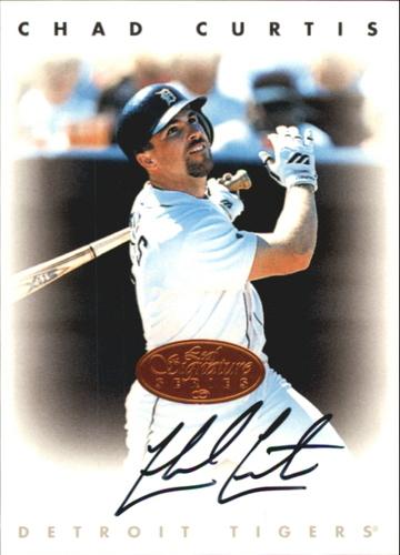 Photo of 1996 Leaf Signature Autographs #53 Chad Curtis