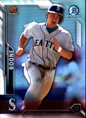 Photo of 2016 Bowman Chrome Rookie Recollections #RRBB Bret Boone