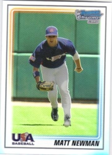 Photo of 2010 Bowman Chrome USA Baseball Refractors #BC14 Matt Newman