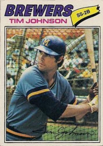 Photo of 1977 Topps #406 Tim Johnson