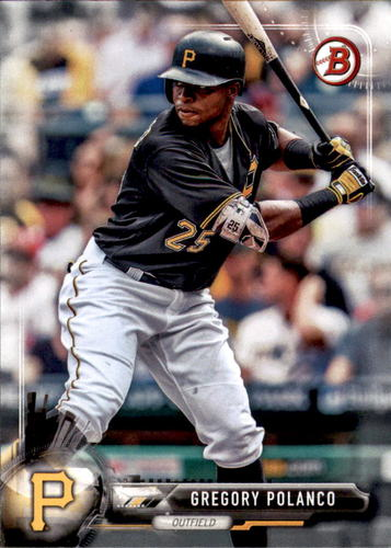 Photo of 2017 Bowman #48 Gregory Polanco