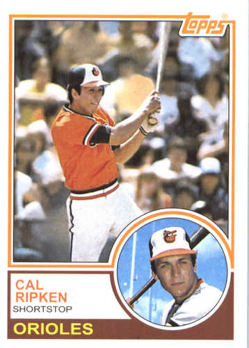 Photo of 2017 Topps Update All Rookie Cup #ARC14 Cal Ripken Jr. -- REPRINT