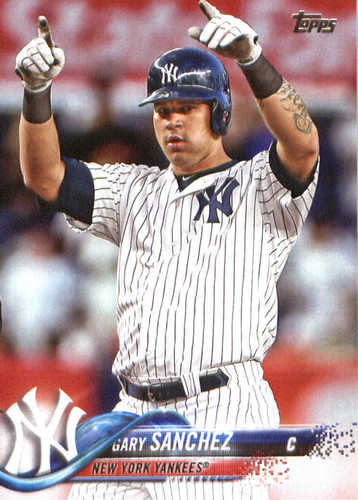 Photo of 2018 Topps #340 Gary Sanchez