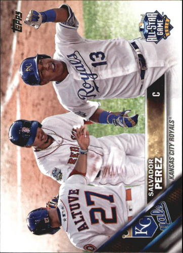 Photo of 2016 Topps Update #US206A Salvador Perez AS