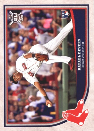 Photo of 2018 Topps Big League #250 Rafael Devers RC