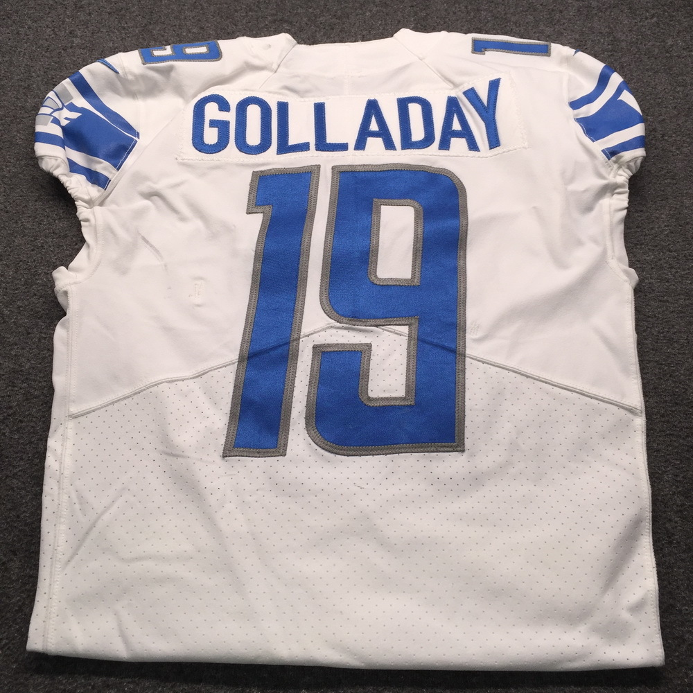 info for 7aad4 11799 NFL Auction | STS - Lions Kenny Golladay 2017 Game used ...