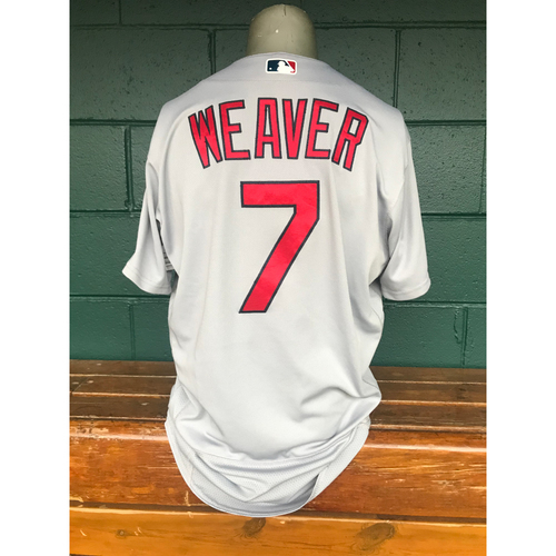 Photo of Cardinals Authentics: Game Worn Luke Weaver Road Grey Jersey