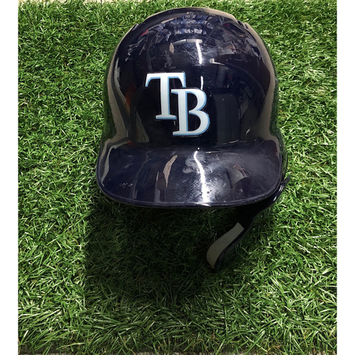 Game Used Batting Helmet: Carlos Gomez - September 29, 2018 v TOR