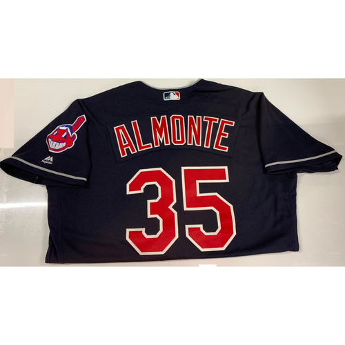 Photo of Abraham Almonte Team Issued Alternate Road Jersey