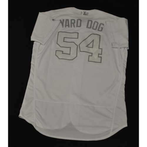 "Photo of Eric ""YARD DOG"" Yardley San Diego Padres Game-Used 2019 Players' Weekend Jersey"