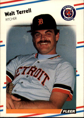 Photo of 1988 Fleer #72 Walt Terrell