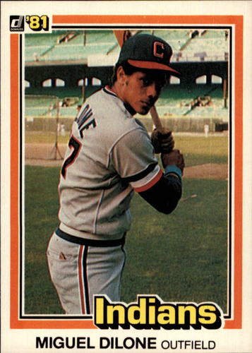 Photo of 1981 Donruss #441 Miguel Dilone