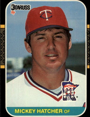 Photo of 1987 Donruss #491 Mickey Hatcher