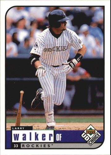 Photo of 1999 UD Choice #82 Larry Walker