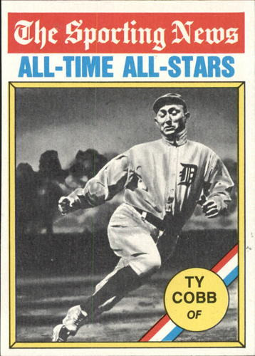 Photo of 1976 Topps #346 Ty Cobb ATG