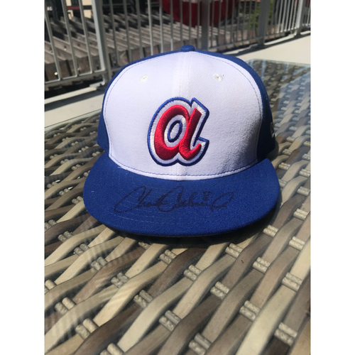 Photo of Charlie Culberson MLB Authenticated Autographed Throwback 1974 Game Used Hat