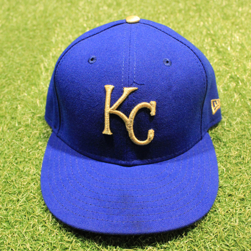 Photo of Game-Used 2020 Gold Hat: Ian Kennedy #31 (Size 7 3/8 - DET @ KC 9/25/20)