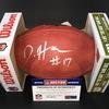 NFL - BRONCOS WR DAESEAN HAMILTON SIGNED AUTHENTIC FOOTBALL W/#17 INSCRIPTION