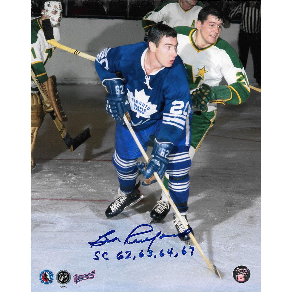 Bob Pulford Autographed Toronto Maple Leafs 8X10 Photo w/