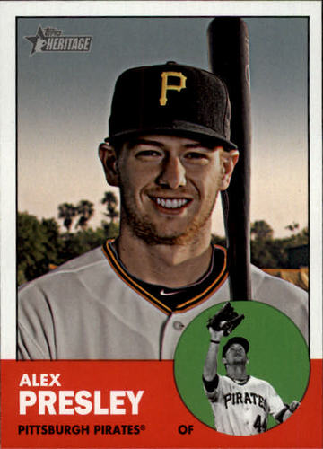 Photo of 2012 Topps Heritage #55 Alex Presley
