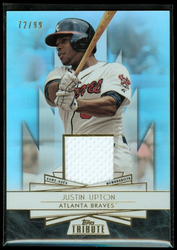 Photo of 2014 Topps Tribute Forever Young Relics #FYRJU Justin Upton