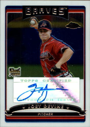 Photo of 2006 Topps Chrome #341 Joey Devine AU RC