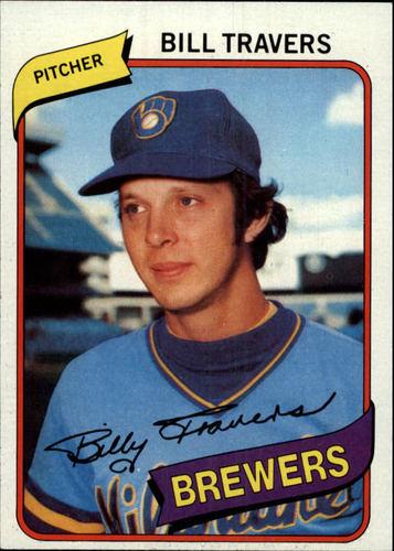 Photo of 1980 Topps #109 Bill Travers