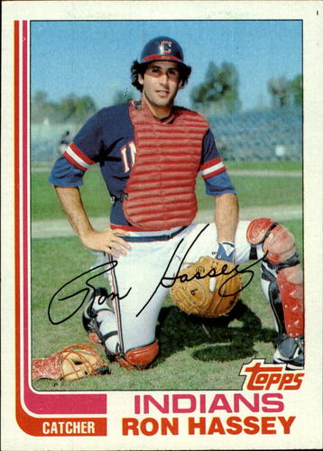 Photo of 1982 Topps #54 Ron Hassey