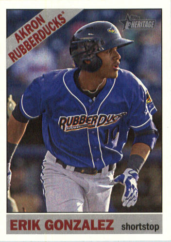 Photo of 2015 Topps Heritage Minors #166 Erik Gonzalez