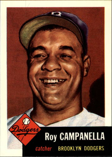 Photo of 1991 Topps Archives 1953 #27 Roy Campanella